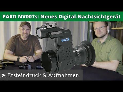 PARD NV007S   Ersteindruck mit Test Aufnahmen   VENARI Jagdtechnik