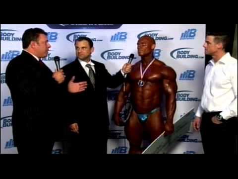 Ben Pakulski Interview at the Arnold Classic