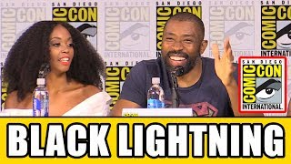 BLACK LIGHTNING Comic Con 2017 Panel News & Highlights