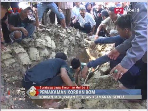Suasana Haru di Pemakaman Giri Catur, Sekuriti Gereja Pantekosta Surabaya - BIP 20/05