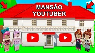 PAPILE MADE A MANSION PER YouTubeRS NO ADOPT ME-ROBLOX