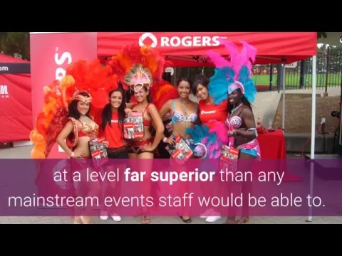 Enthousiastic Canadian Ethnic Event Staffing Offers Diversity For Multicultural Marketing Events