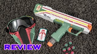 REVIEW Nerf Rival Apollo Star Wars Mandalorian Edition