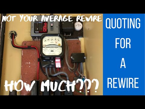 Quoting For A House Rewire - How Much Should I Charge? Electrician Life