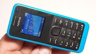 Nokia 105 оригинальный телефон из Германии. Проверка телефона на работоспособность
