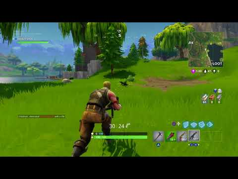 Fortnite First bush find and new map