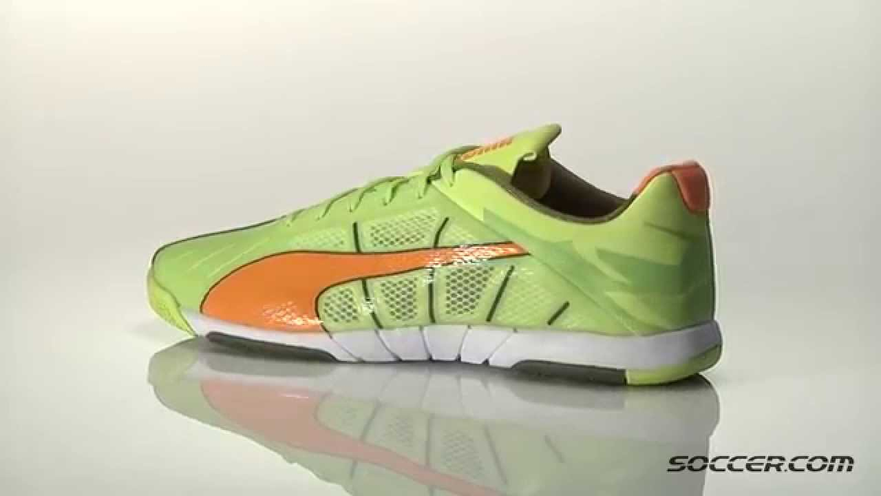 f46297b30 PUMA Neon Lite 2 0 Indoor Soccer Shoes 75232 - YouTube