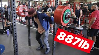The Most Weight Squatted at Zoo Culture EVER!!