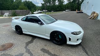 homepage tile video photo for MY FIRST DRIVE IN THE S15!