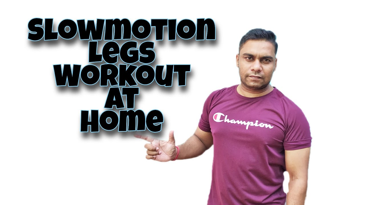 Slowmotion Legs workout | Ghar par pairo ke muscles kaise banaye | #Hks_fitness