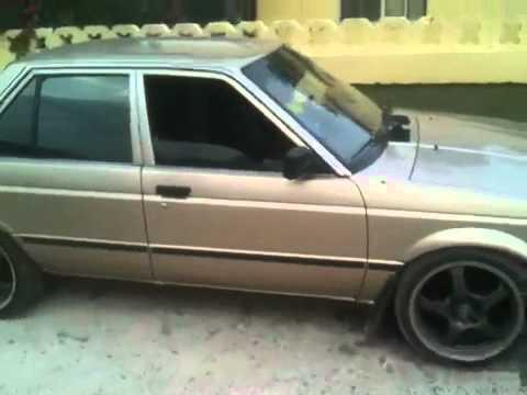 Nissan sentra b12 custom - YouTube