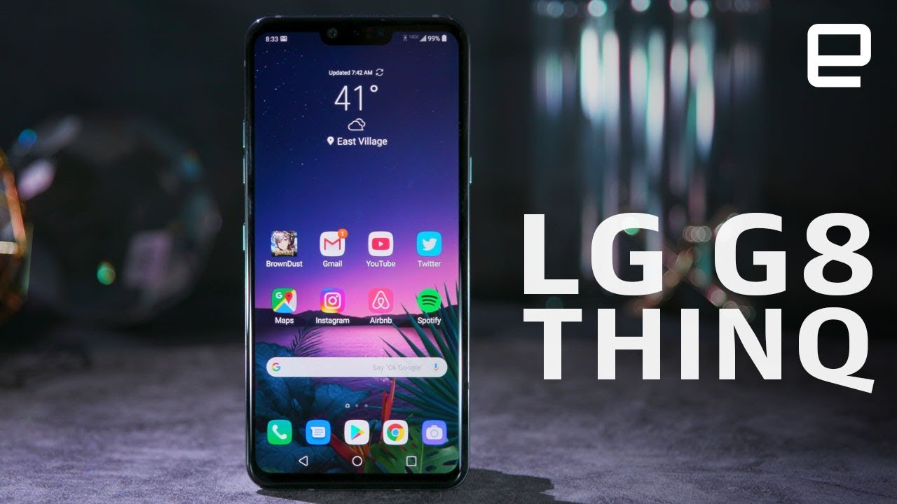 Hands-On: LG unveiled the G8 ThinQ smartphone