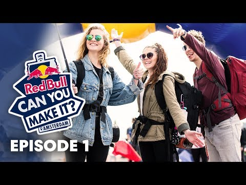 RED BULL CAN YOU MAKE IT? How to travel without money.