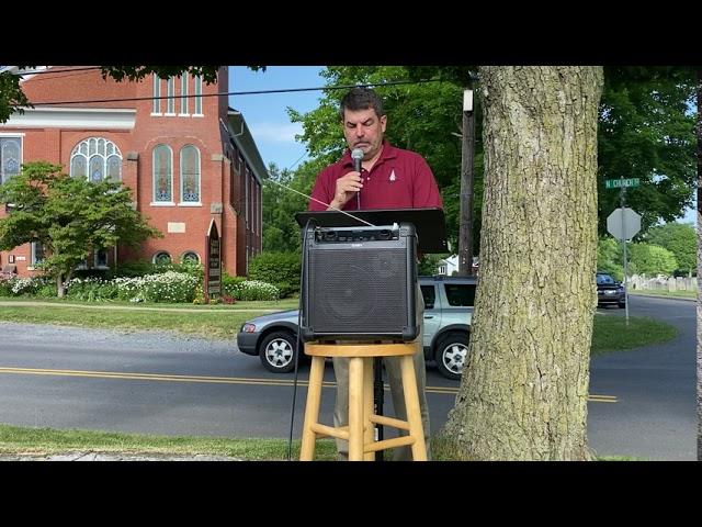 Outdoor worship 7-19-20