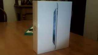 Unboxing of an iPad 3 32GB (The New iPad)