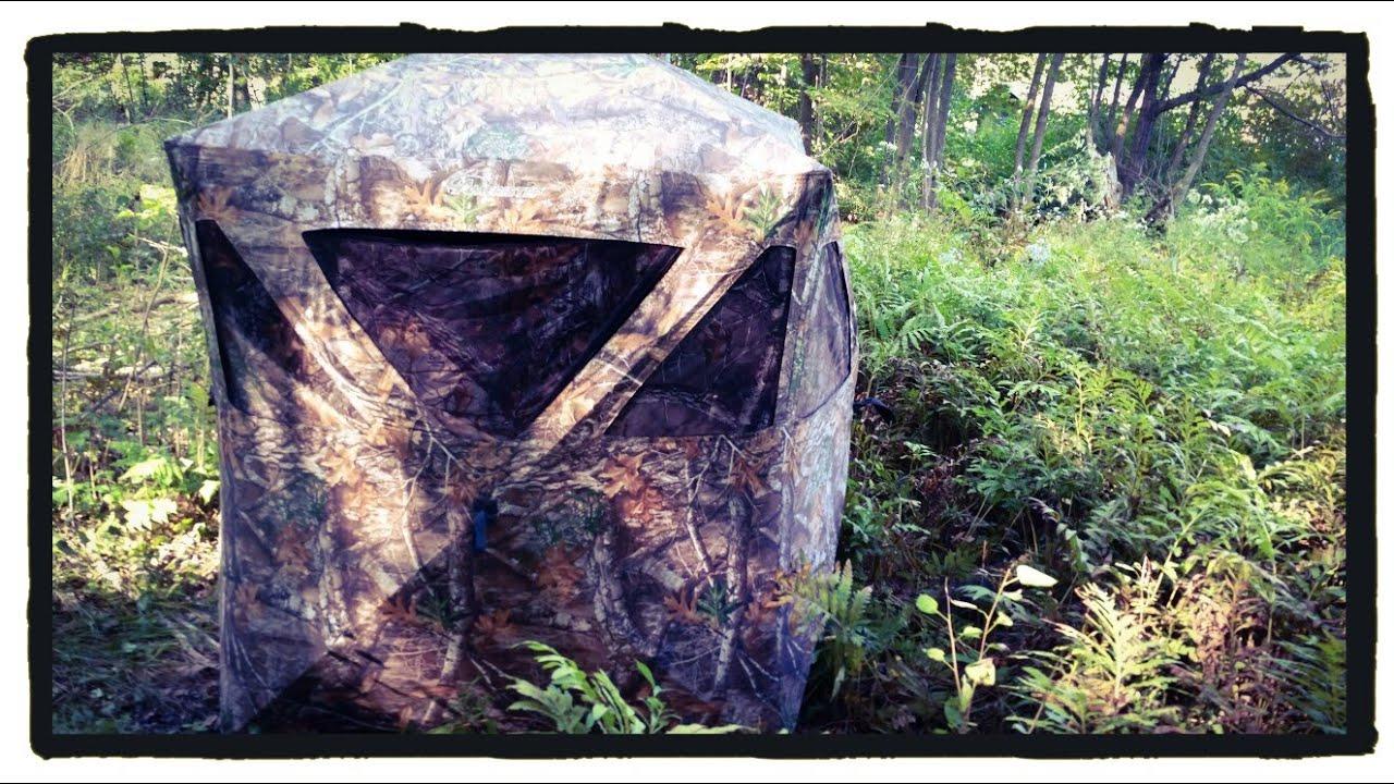 Ameristep Caretaker Ground Blind Easy Setup Portable