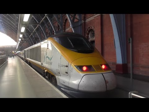 Eurostar Class 373 TGV TMST Ride: Brussels-South to London St Pancras International - 10/05/17