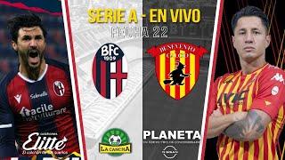 BOLOGNA FC vs BENEVENTO / EN VIVO / CALCIO SERIE A TIM