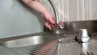 Ремонт крана на кухне