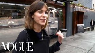 Alexa Chung On Williamsburg Brooklyn
