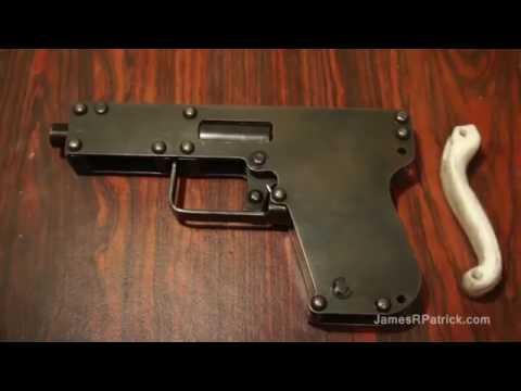 Pistola casera calibre 22 youtube for Pistola para lacar muebles precio