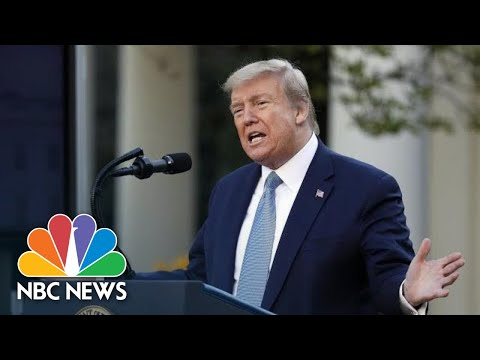 : Trump Ders Remarks on Protecting Seniors With Diabetes  NBC News