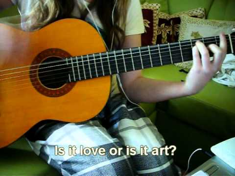 Who owns my heart Miley Cyrus Guitar cover + CHORDS - YouTube