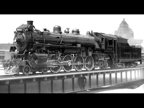 The Canadian Pacific Railway - 1920s Across Canada By Train, All ABOARD!