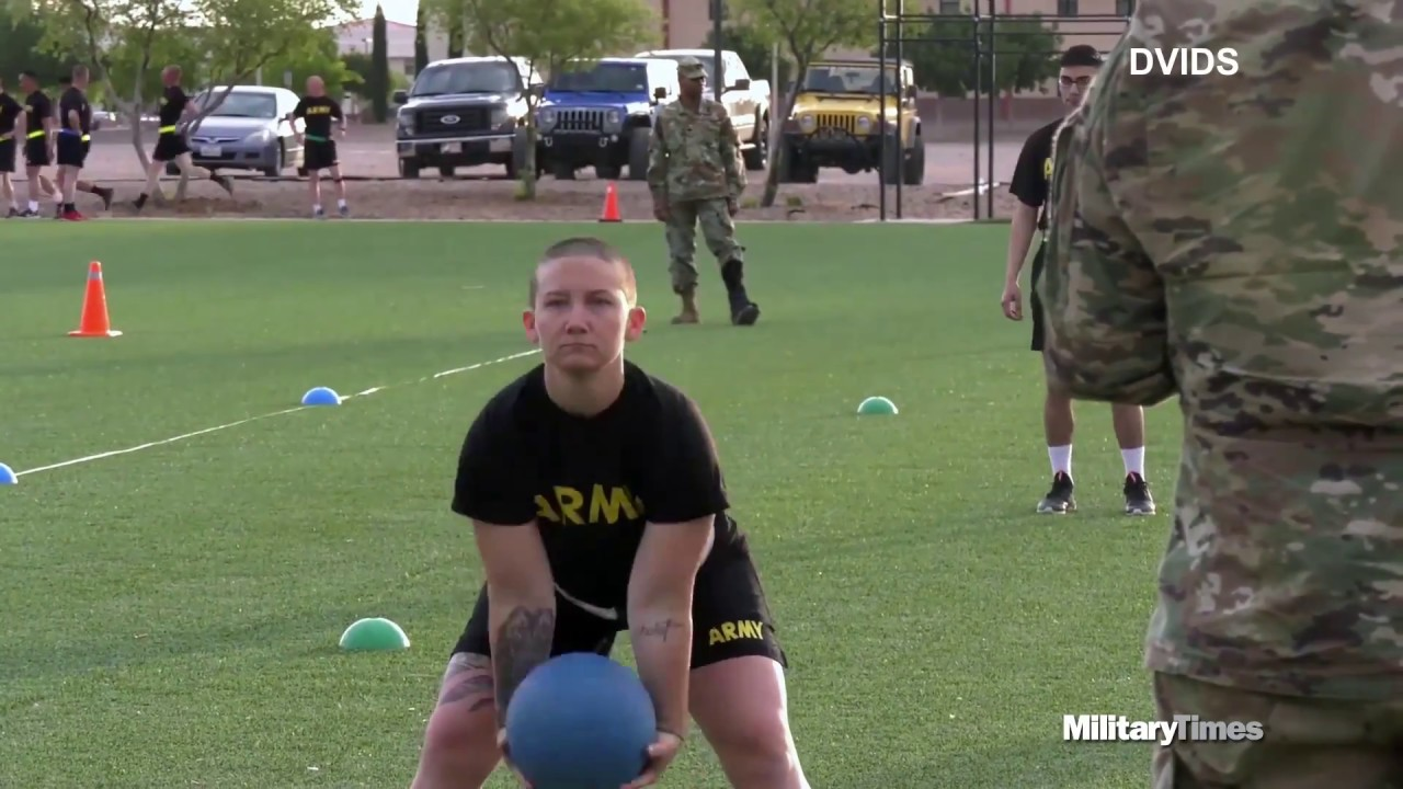 What you need to know about the Army's new PT test
