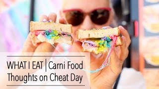 WHAT I EAT in a Day - Do I Do CHEAT DAY - Carnie Food FTW!