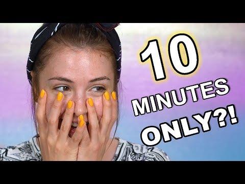 10 MINUTE MAKEUP CHALLENGE thumbnail