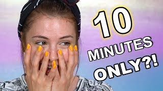 10 MINUTE MAKEUP CHALLENGE