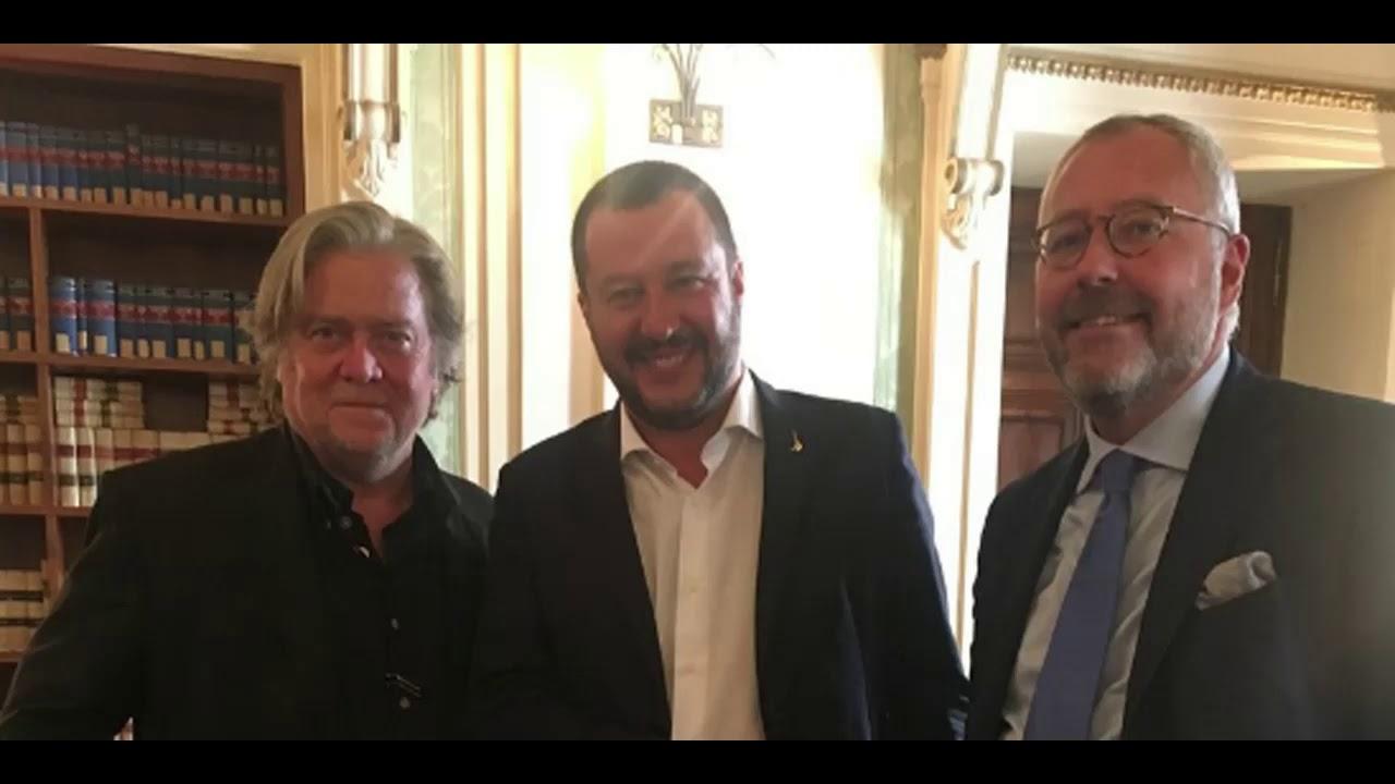 Steve Bannon - Matteo Salvini - Mischaël Modrikamen - YouTube