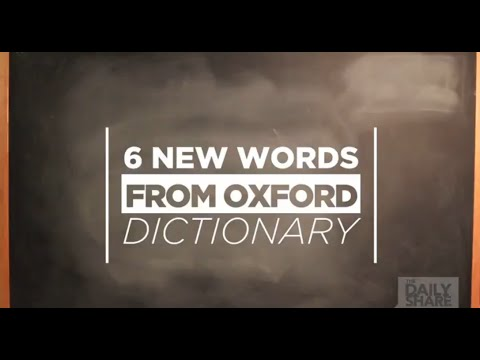 Awesomesauce! New words added to Oxford dictionary