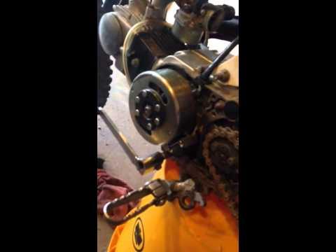 Ssr 110cc dirt bike won't start (spark no fire)