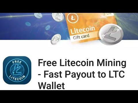 free litecoin mining fast payout to LTC wallet 500 santoshi par ad