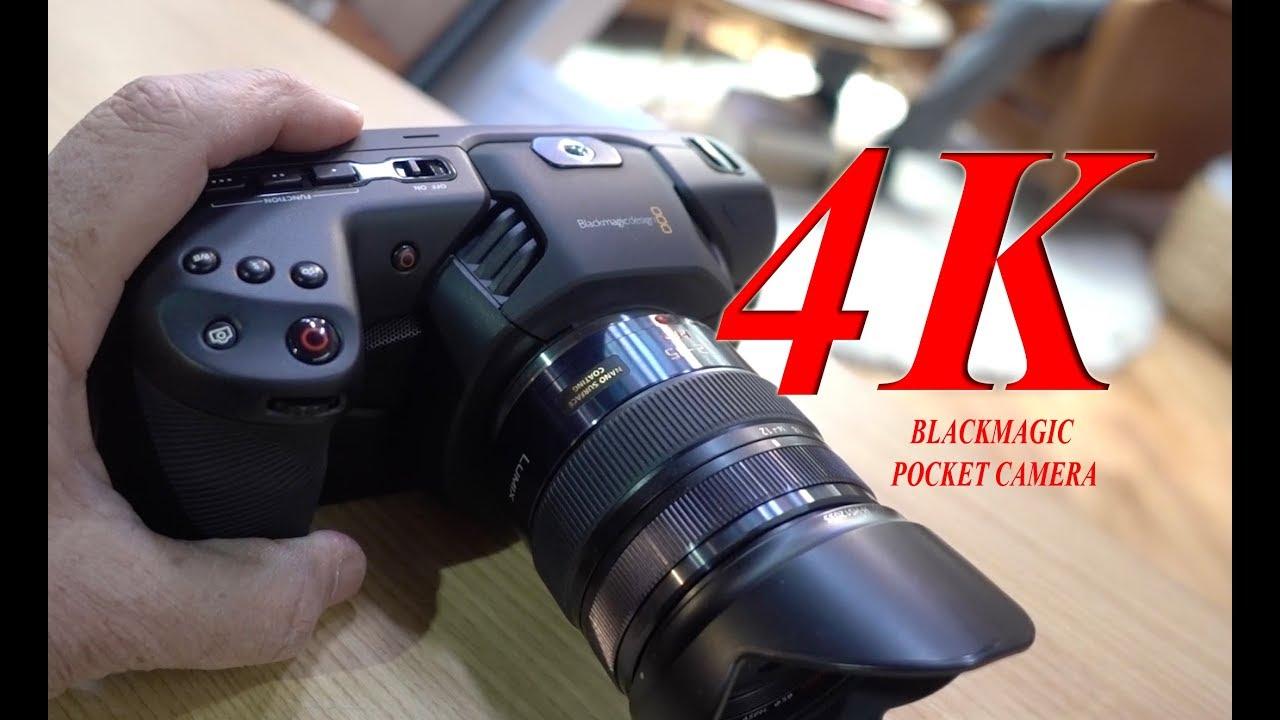 Download Blackmagic Design Pocket Cinema Camera 4K First Look at NAB 2018