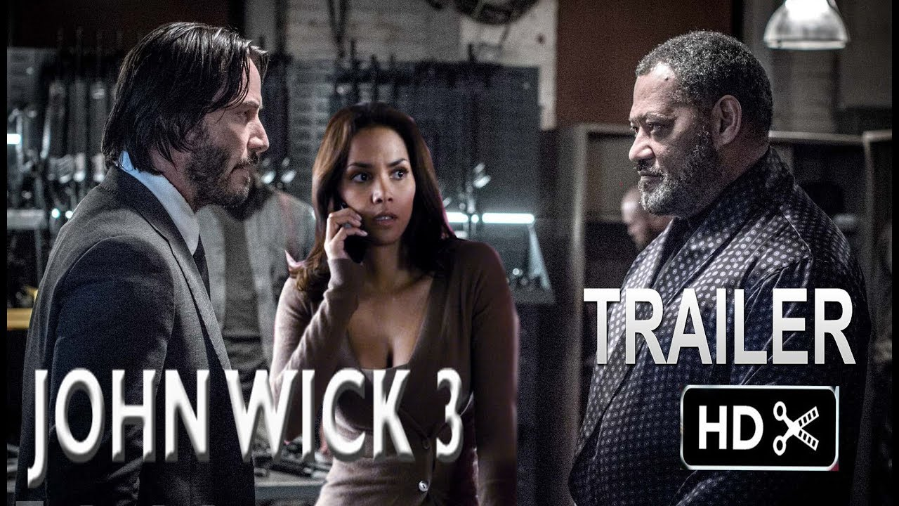 John Wick 3 Trailer 2 2019 Keanu Reeves Action Movie Exclusive