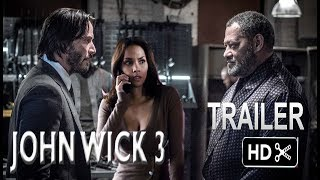 John Wick 3- Trailer # 2  (2019) Keanu Reeves Action Movie EXCLUSIVE (fan made)