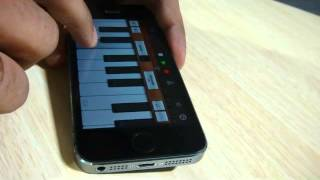 iPhone GarageBand App | Love is waste of time (PK) | Instrumental cover by Ramalingam
