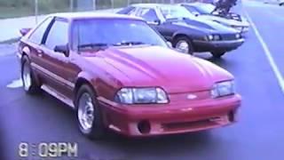 Drag Racing the Mustang