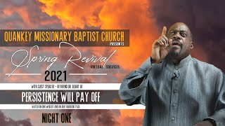 QMBC   Spring Revival 2021  Persistence Will Pay Off
