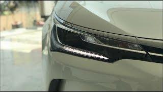 2017 |Toyota Altis Grande 1.8 Automatic| Facelift| Review| Lahore Pakistan