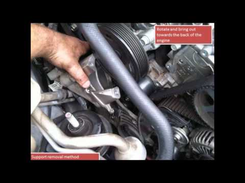 Фото к видео: Kia Magentis 2 7 Timing Belt Change G6EA 2008