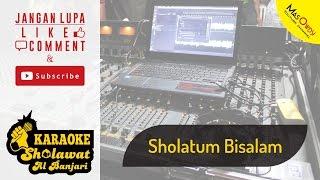 [ Karaoke ] Sholawat Al Banjari - Sholatum Bisalam