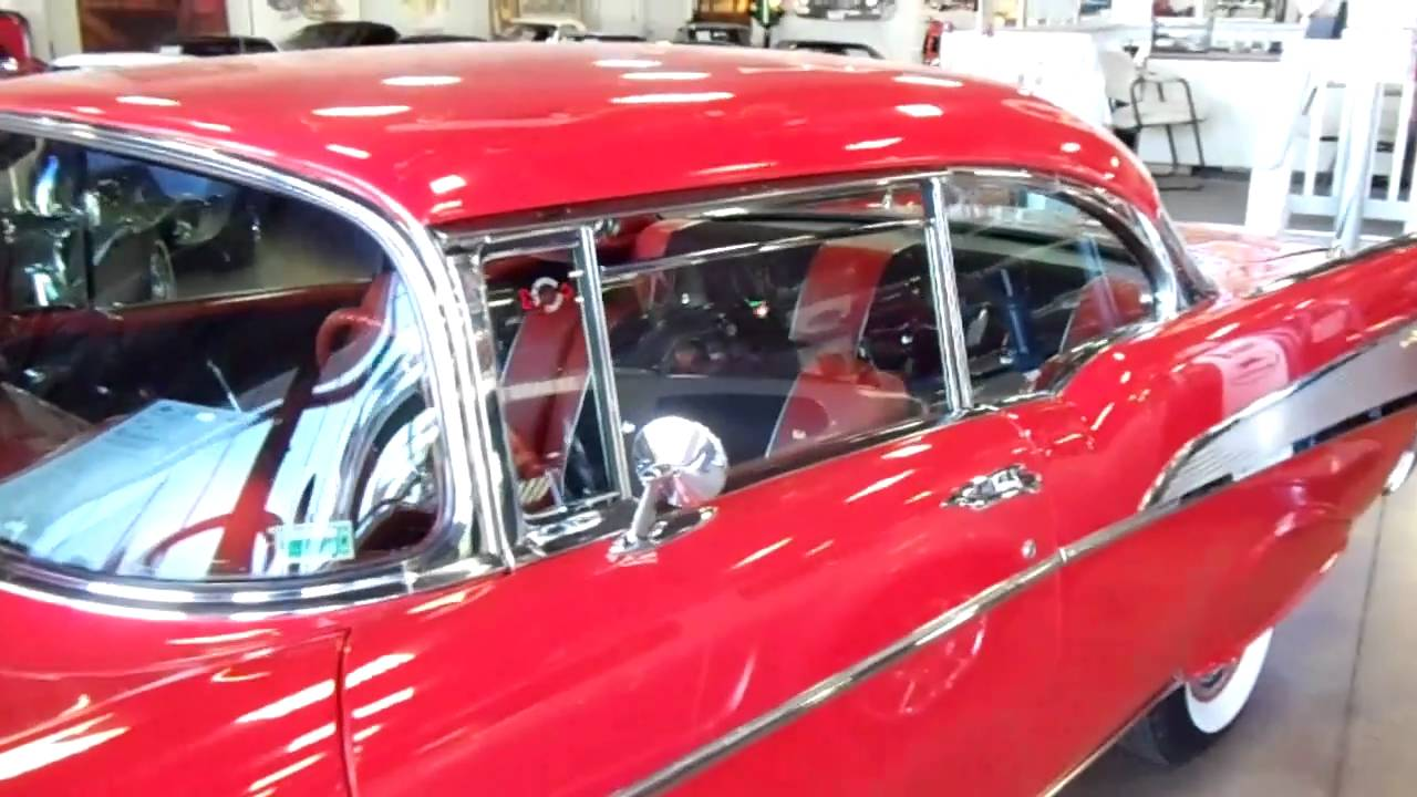 Bel Air Car >> 1957 Chevy Bel Air - Dual Carb 283 Duntov Cam - YouTube