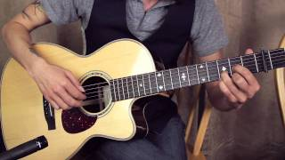 James Taylor - Carolina in my Mind - Intro - Acoustic Guitar Lessons - fingerstyle finger picking