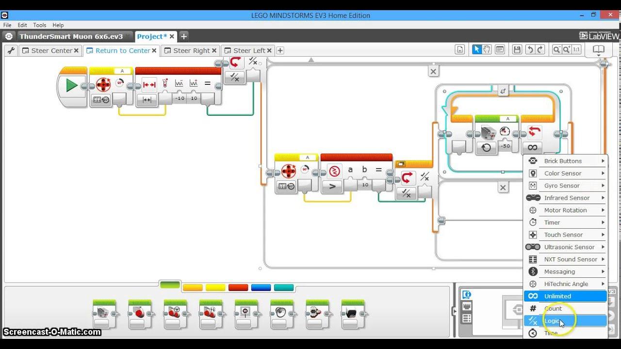 Car Steering System Part 2 Of 4 Return To Center Ev3
