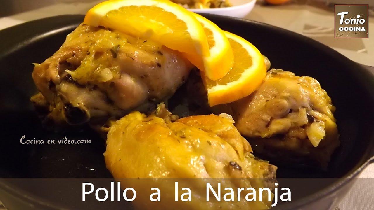 Pollo a la naranja sin horno sin gluten bajo en - Cocinar facil y rapido ...