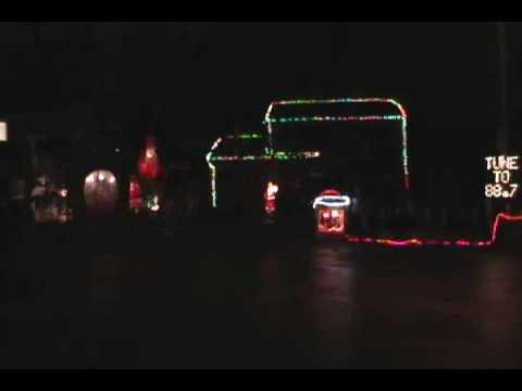 wizards in winter lights video